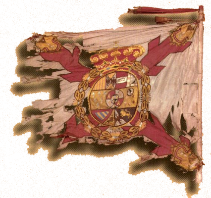 Colonel's flag of La Laguna Regiment