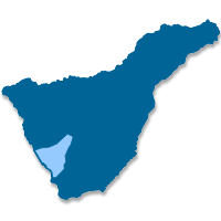 Location map of Adeje (Canary Islands)