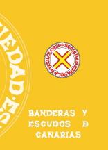 """Portada del libro de José Manuel Erbez """"Banderas y Escudos de Canarias"""""""