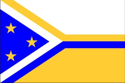 My personal flag (Islas Canarias)