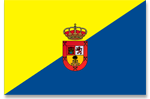 Flag of Gran Canaria (Canary Islands)