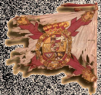 Fahne der Regiment La Laguna