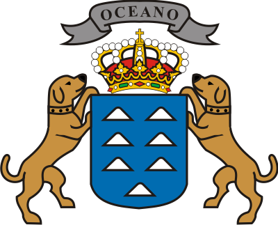 The Coat of Arms of the Canary Islands (IV) (Islas Canarias)